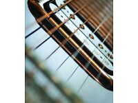 Guitar Tuition and development from Experienced Professional Guitarist