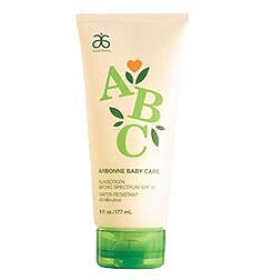 ISO - Arbonne childs Sunscreen