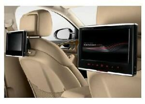 Genuine Audi Dvd Rear Seat Entertainment System 9 Quot Screen Upgrade Ebay