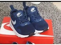 Infant size 3.5 nike air max trainers