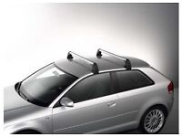 Audi A3 Roof bars with key and manual