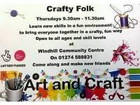 Craft folks craft group