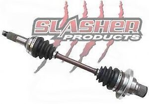 SLASHER AXLES ARE NOW IN STOCK! ATV / UTV FRONT & REAR AXLES!!