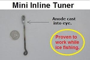 ICE FISHING? ATTRACT FISH TO YOU WITH POSITIVE VOLTAGE. IT WORKS!