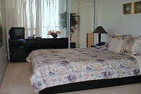 ***IMMACULATE FURNISHED 2 BED +DEN +2 FULL BATH CONDO!
