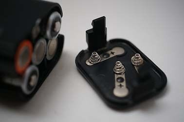 Fix XK Motor battery clips with 3D printer