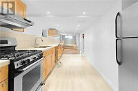 Gorgeous newly RENNOVATED above ground basement apartment