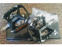 NEW Shimano Deore XT PD-T780 Double Sided SPD Clipless Trekking Pedals