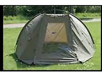 **JRC Roamer dome fishing bivvy winter skin and 2 reel and a rod **