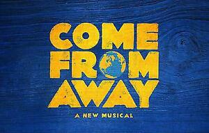 Come From Away  (Edmonton)  Saturday March 16 **ROW 3**