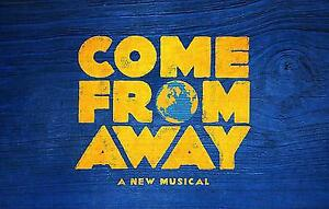 ROW C- Come From Away Toronto Toronto tickets- March 13 8:00 PM