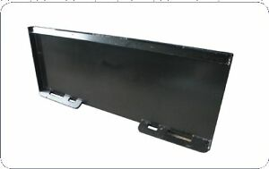 Universal Mount Plate for Skid Steer