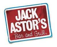 Jack Astor's Don Mills is excited to be hiring!!!