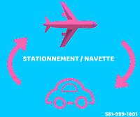 581-999-1801 STATIONNEMENT NAVETTE AEROPORT DE QUEBEC