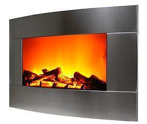 Wall Mount Fireplace | eBay