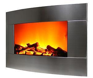 Wall Hanging Fireplace wall mount fireplace | ebay