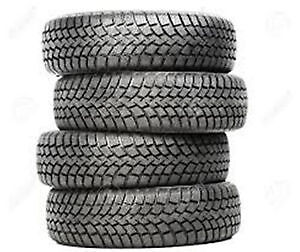 "Set of 4 winter tires on rims, 14"", pneus d'hiver Gatineau Ottawa / Gatineau Area image 1"