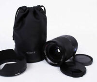 Sony 24-70mm f/4 ZA OSS Black FE Mount Autofocus Lens with Case,