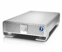 G drive Thunderbolt Apple external hard drive