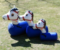 Pony Hops | Bouncing ponies for western themed parties