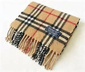 burberry discount outlet rk2v  Vintage Burberry Scarf