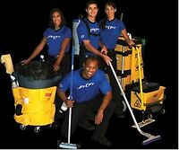 2 FULL TIME JANITORIAL POSITIONS AVAILABLE ASAP