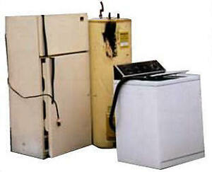 WILL PICK UP & REMOVE ANY APPLIANCES AND METALS FOR FREE!
