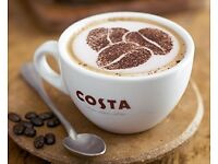Costa Coffee recruiting for a new opening store in London Hendon Staples Corner Retail Park