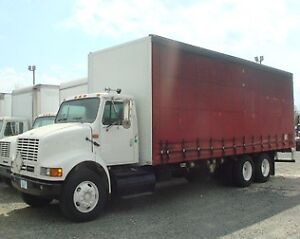 2001 International Curtainside Truck for sale!!