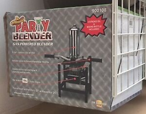 Gas Powered Party Blender NEW IN BOX