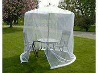 Parasol insect net