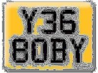 Y368 OBY YES 8OBY BOBY Robert OBI Private Personal number plate Cherished registration
