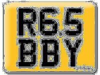 Yamaha R6 Gabby Gaby Gabriel Robbie Bobby Robby Robert R65 BBY Baby Cherished Private number plate