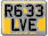 Yamaha R6 33 R633 LVE Elvie LIVE LOVE Private Personal number plate Cherished registration