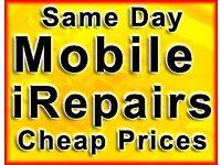 Repair from £10 iPhone 7 6s 6 5C Glass Screen iRepair iPad Samsung S7 LG MacBook Laptop Shop Glasgow