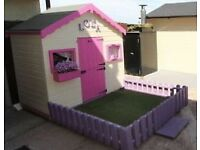 Toy play house/shed