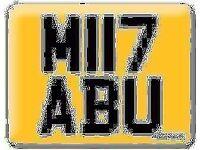 M117 ABU MIYABU MIABU MYABU Cherished Registration Private 17 Number plate M3 MIII