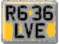 Yamaha R6 36 R636 LVE Elvie LIVE LOVE Private Personal number plate Cherished registration