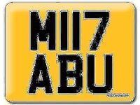 ABU MIYABU ZABU MABU MIABU MYABU YABU IZABU IABU MITABU Cherished Registration Private Number plate