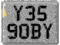 Y359 OBY YES GOBY Scooby OBI Preferential Personal number plate Cherished registration on Retention