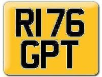 Yamaha R1 76 GP private number plate cherished registration R176GPT includes fees