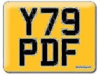 Y79 PDF Preferential Personal number plate Cherished registration small digits number on Retention