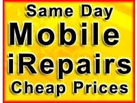 SAME DAY iPhone 7 6s 6 5C 5 iPad Samsung LG HTC Screen Glass Repair Battery PC MacBook Shop Glasgow