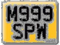 M999 SPW BMW M9 99 private number plate cherished registration 999 PW Steve Stephen Paul William
