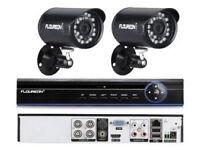 2 camera HD CCTV system - brand new in box