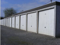 Lock up Garages For rent From £100+vat Single. Double Garage 200+vat per month