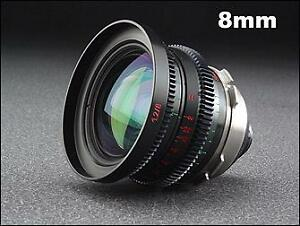 Optar Illumina Cine Lenses Kit f1.2/1.3T: 8/9.5/12/16/25mm 5pcs