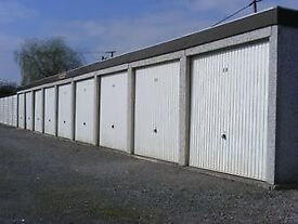 Lock up garages for rent