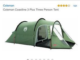 Coleman Coastline 3 Plus Three Person Tent