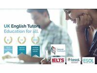 ONLINE ENGLISH TUTORS: NATIVE SPEAKERS, KEY STAGES, CELTA, IELTS, ESOL